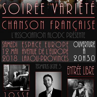 Affiche du concert du 12 mai