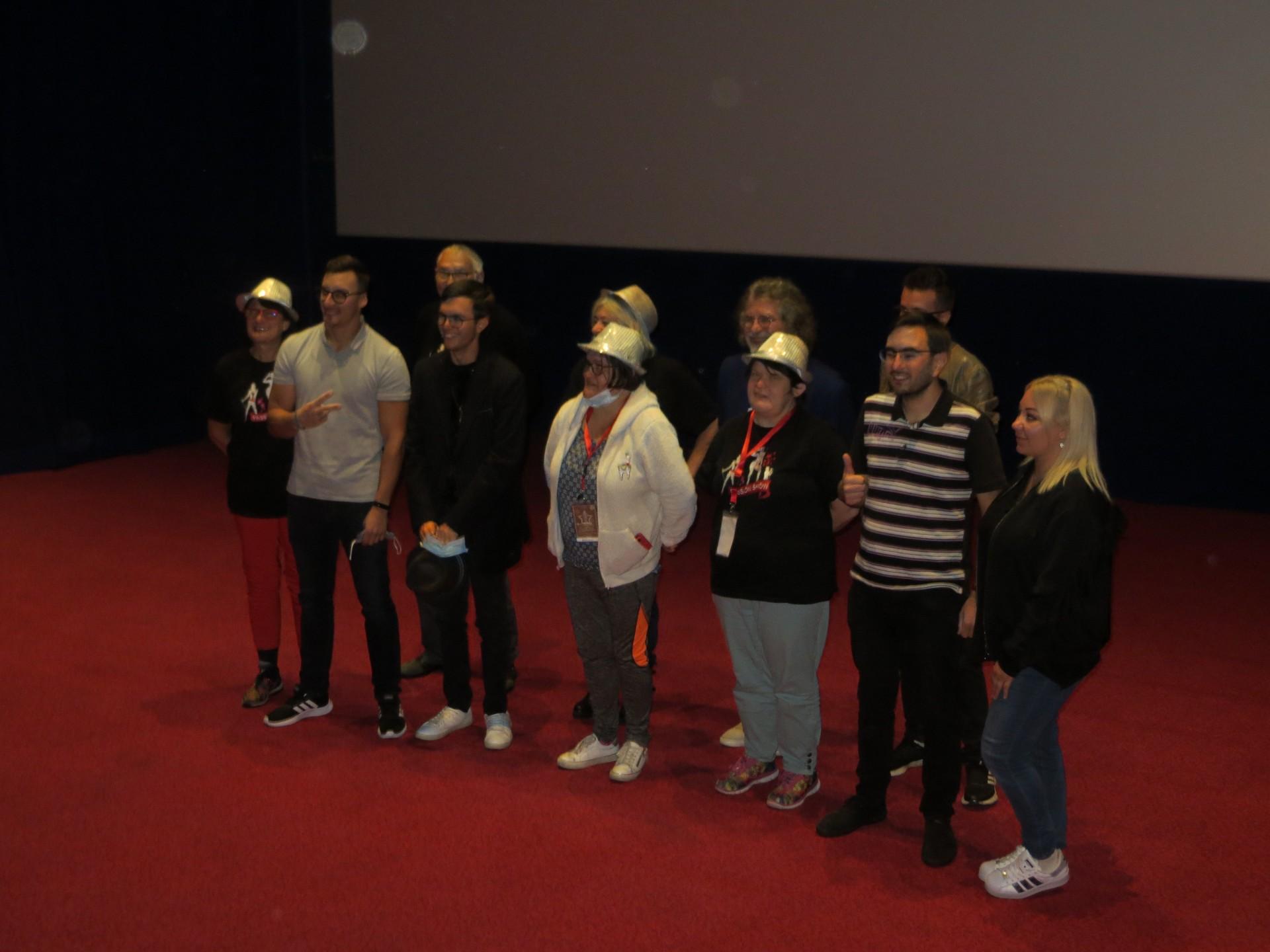 Projection au cinéma du spectacle