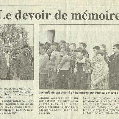 L'Est Républicain du 9 juin 2000