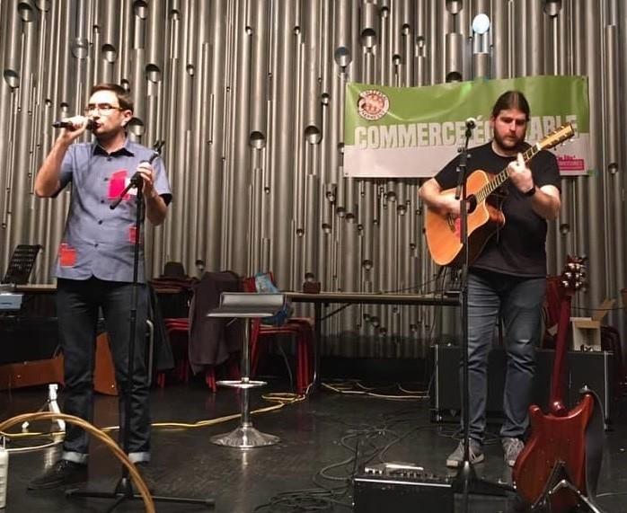 Concert au Marché équitable et solidaire de Tomblaine (54) - 14 décembre 2019