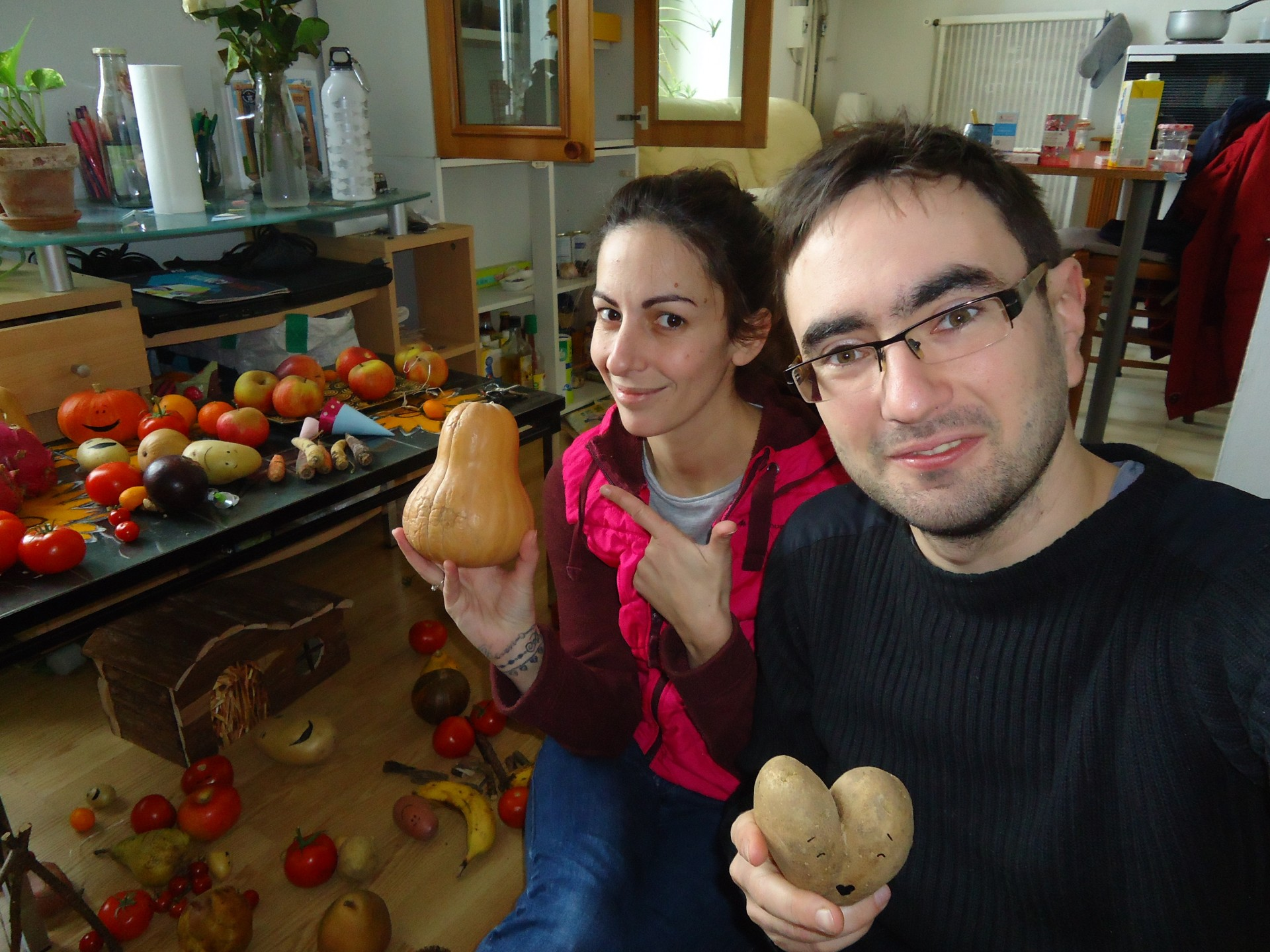 Végé t'as rien : Nathalie et Antoine