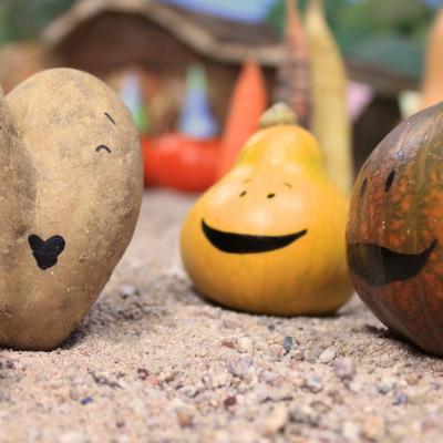 Discussion entre légumes