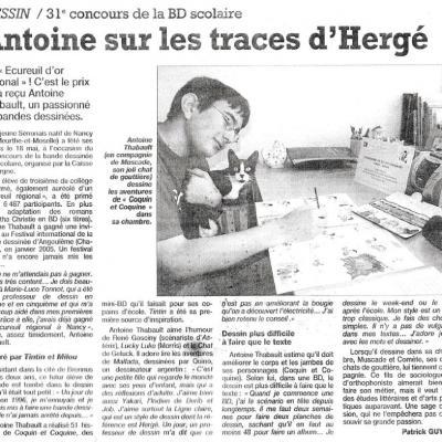 L'Yonne Républicaine du 16 juillet 2004
