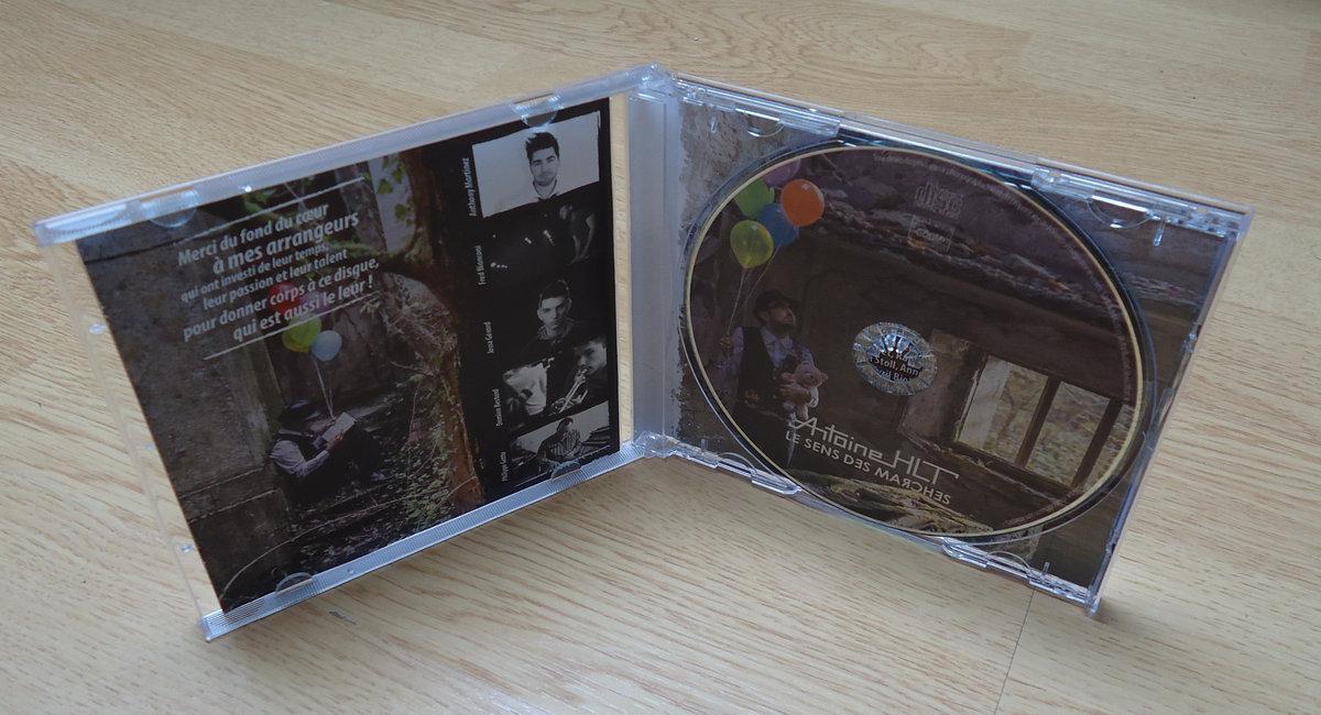 Visuel CD Le sens des marches